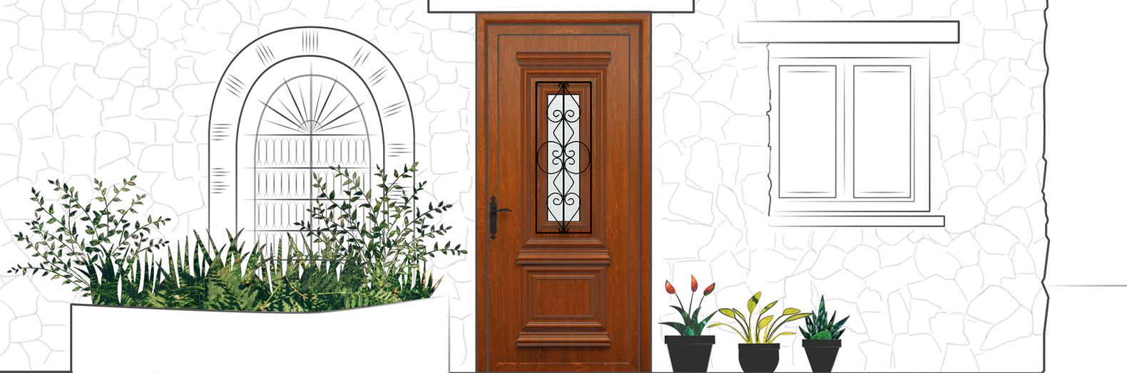 Indupanel puertas y paneles aluminio y pvc for Cristales para puertas de madera precios