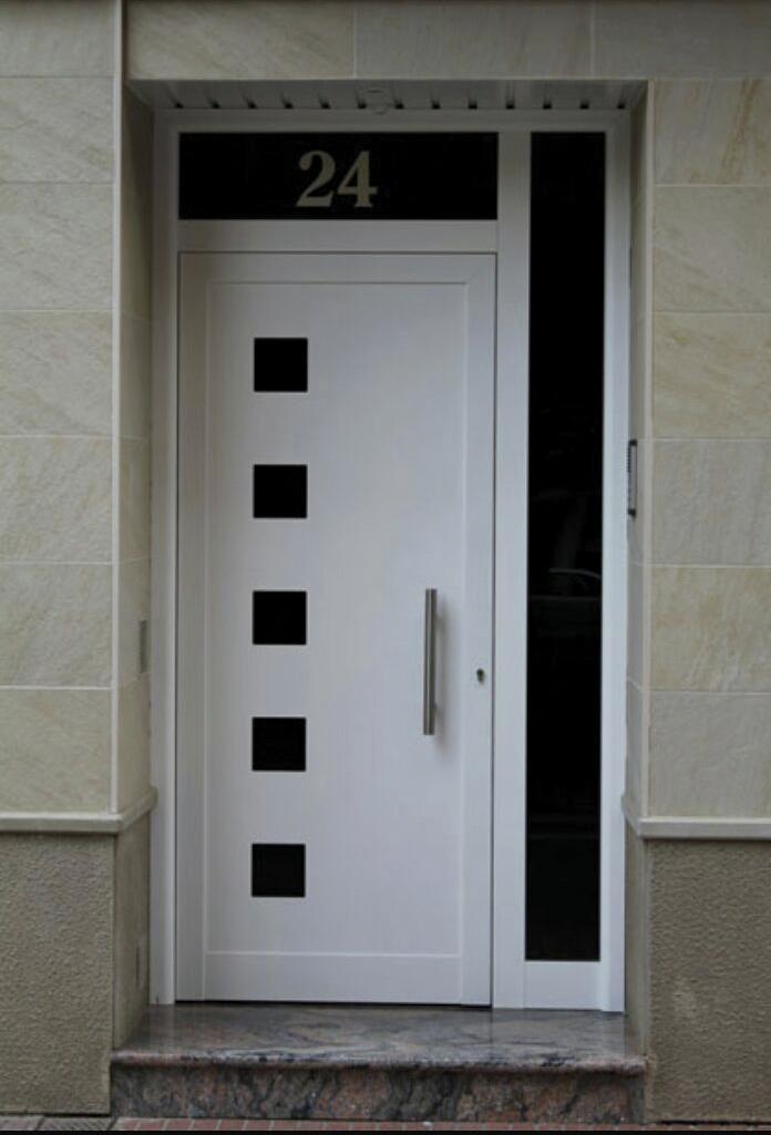 Especial indupanel - Puertas blancas exterior ...