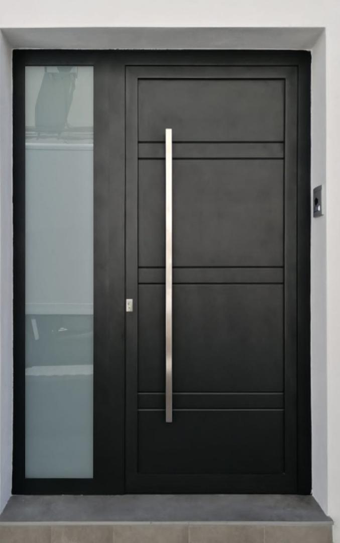 Puerta diseño lineal