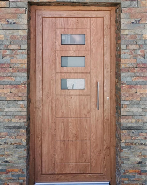 Puerta diseño moderno